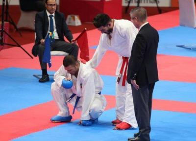 پورشیب: داور عرب به سود کاراته کای کویتی قضاوت کرد