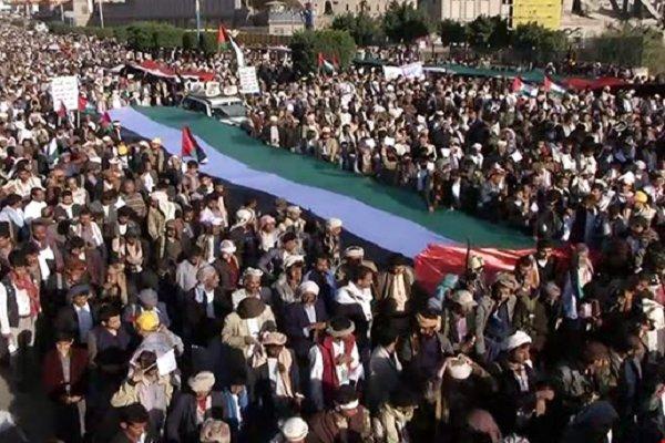 مراسم بزرگداشت چهارمین سالگرد انقلاب یمن در صنعاء