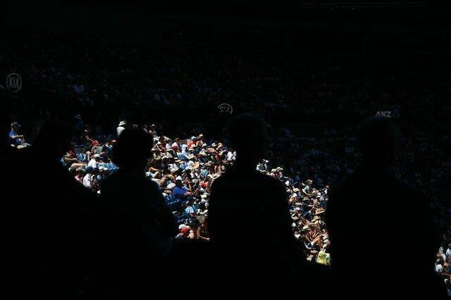 درگیری در سکوهای تنیس اپن استرالیا به خاطر یک سربند!
