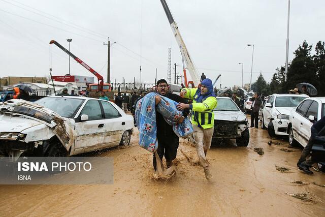 دیه قربانیان سیل شیراز بعد از مشخص مقصر پرداخت می گردد