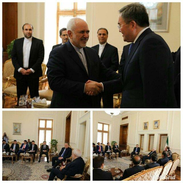معاون اول وزیر خارجه قزاقستان با دکتر محمد جواد ظریف دیدار و مصاحبه کرد
