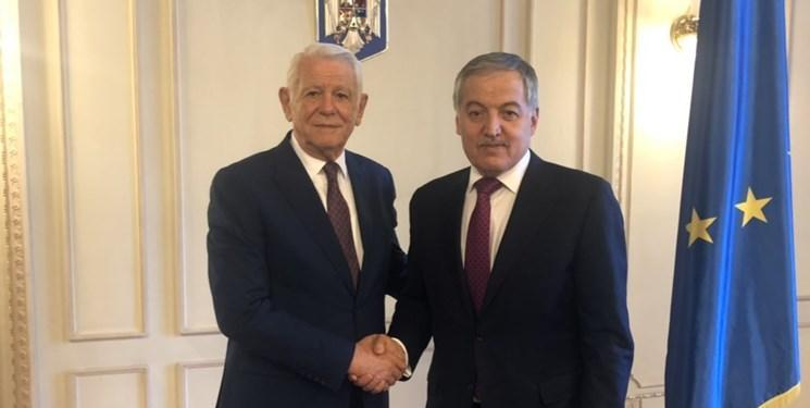 همکاری در چارچوب سازمان های بین المللی محور رایزنی مقامات تاجیکستان و رومانی