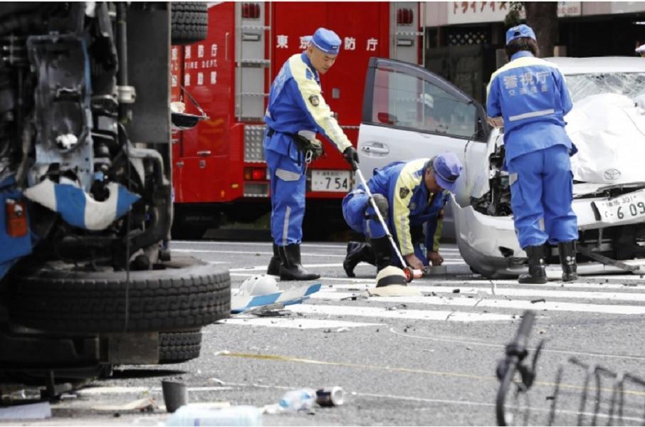 حمله خودرو به عابران در ژاپن 2 کشته و 8 زخمی برجا گذاشت