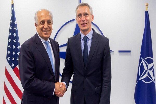 خلیل زاد: آمریکا و ناتو با هم از افغانستان می روند