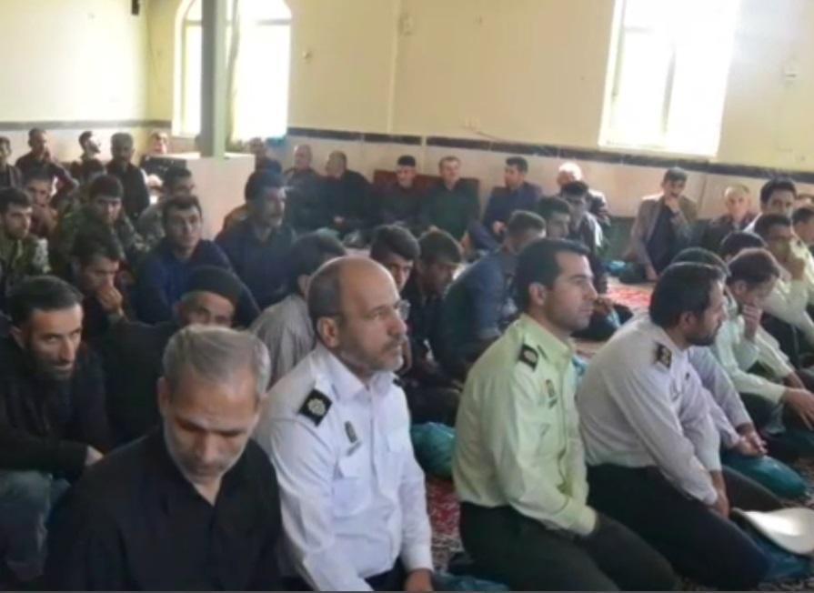 مراسم گرامیداشت سرباز شهید مجید شیری پز در خمین