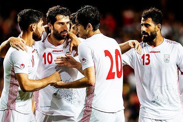 تیم ملی فوتبال به تهران بازگشت