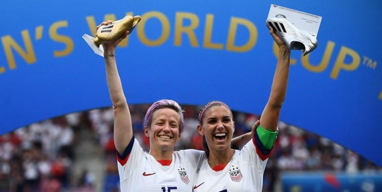 جام جهانی فوتبال زنان، دو عنوان برتر سهم منتقد ترامپ!