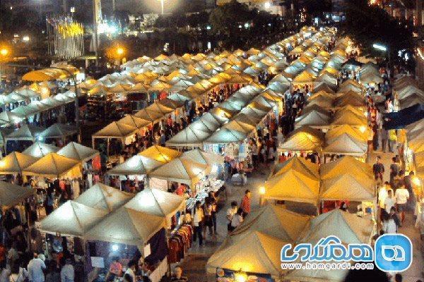 خرید در بازارهای شبانه پاتایا ، خریدی امن و ارزان