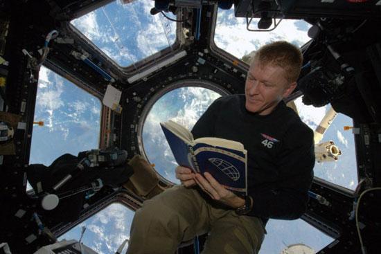 عکس های خیره کننده فضانورد بریتانیایی از زمین