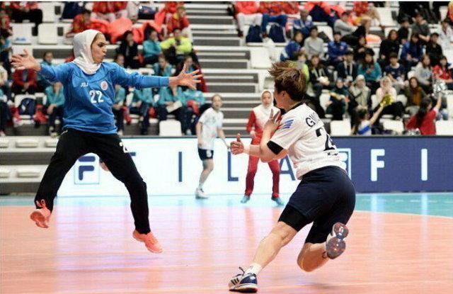 کره قهرمان مسابقات آسیایی هندبال بانوان، ایران هفتم شد