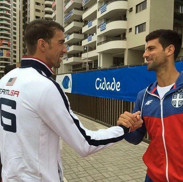 همراه با ستارگان ورزش دنیا در استقبال المپیک