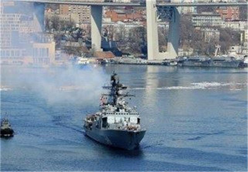 ناوگان دریایی روسیه وارد اقیانوس هند شد