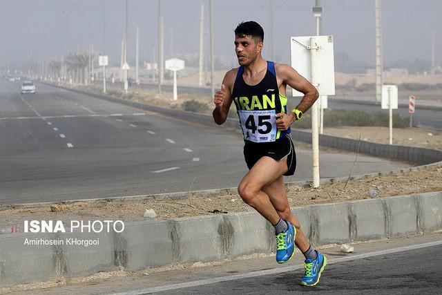 5 مدال دوندگان ایران در مسابقات عراق