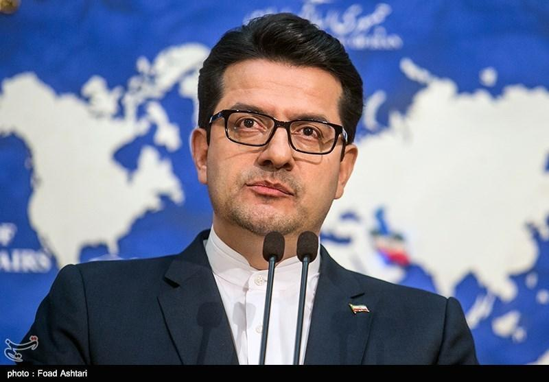 تبریک سخنگوی وزارت خارجه به مسئول جدید سیاست خارجی اتحادیه اروپا