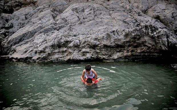 افزایش خروجی آب چشمه علی پس از تعمیرات مترو