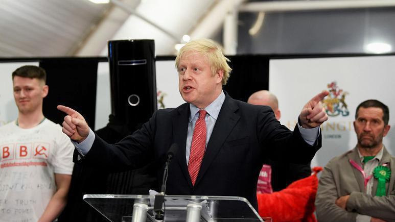 انتخابات بریتانیا: حزب محافظه کار اکثریت کرسی ها را گرفت، جانسون: نتیجه آراء به معنی تحقق برگزیت است