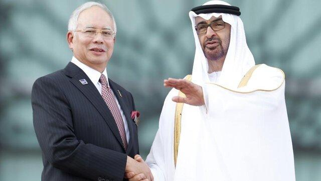 پای ولیعهد ابوظبی به پرونده فساد مالزی باز شد