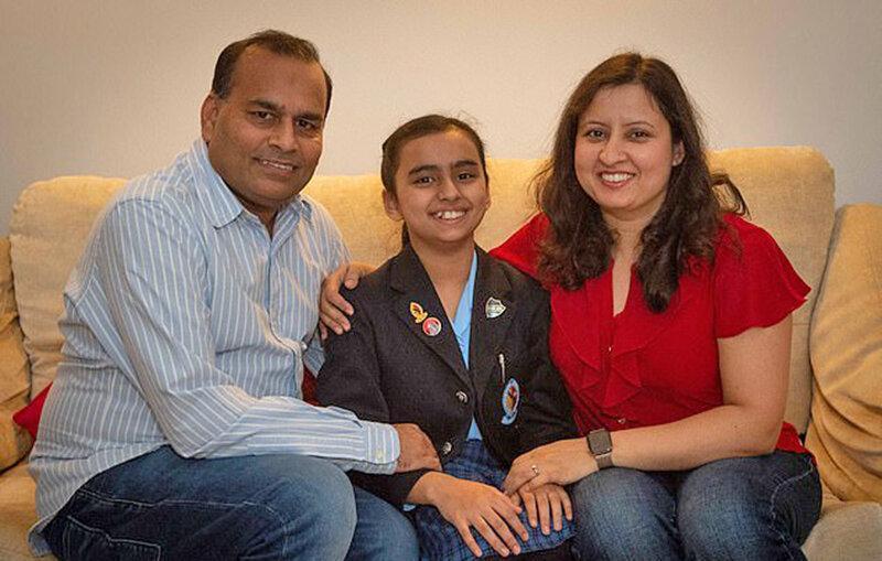 نابغه تر از اینشتین و هاوکینگ ، ضریب هوشی 162 برای دختر 10 ساله هندی