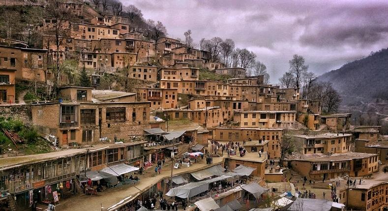 شهر ماسوله از جاذبه های گردشگری و توریستی شمال کشور