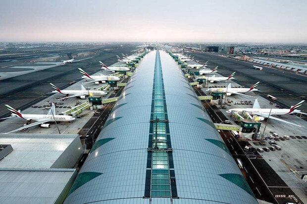 فرودگاه دوبی با اولین افت ترافیک مسافری در تاریخ خود روبرو شد