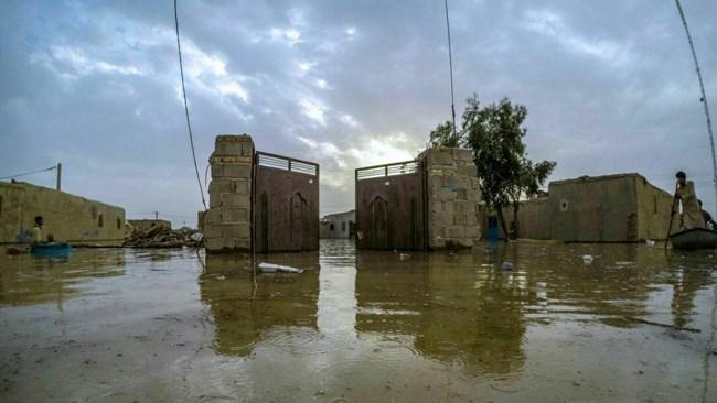 سیلاب در سیستان و بلوچستان 6 روستا را گرفتار کرد و 23 جهت را بست