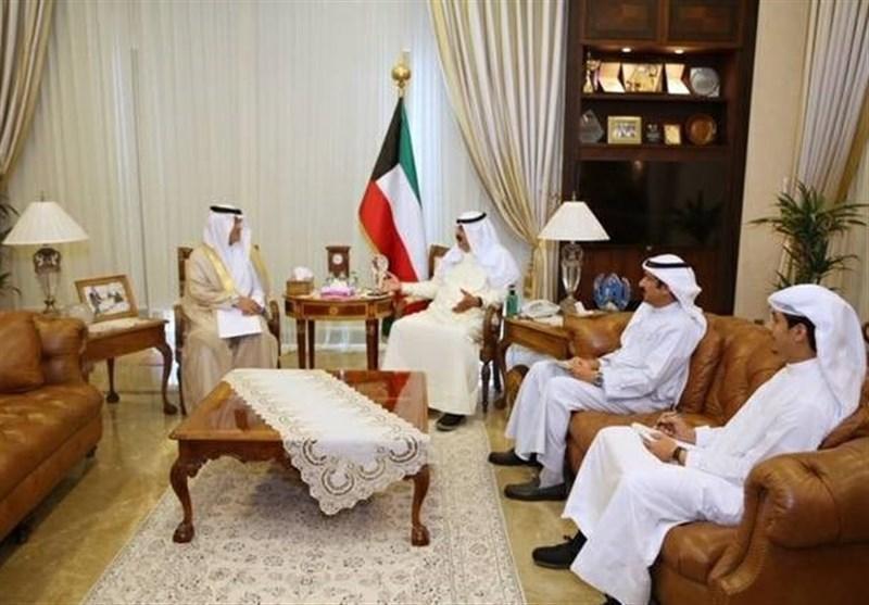 عربستان، پیغام مکتوب ملک سلمان به امیر کویت