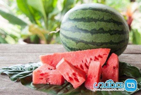 کمبود آب بدنتان را با این میوه برطرف کنید