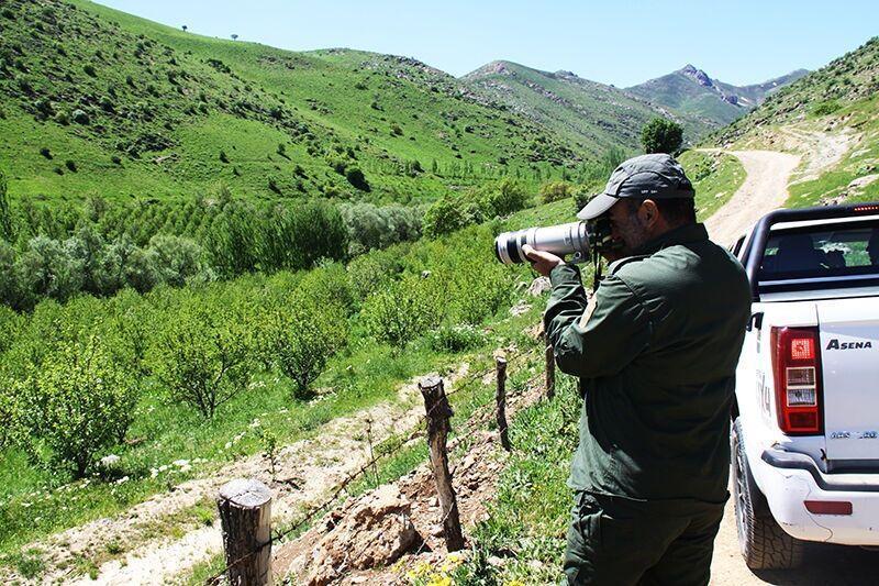 خبرنگاران ساخت پاسگاه محیط بانی شهرستان تفتان وارد فاز اجرایی شد