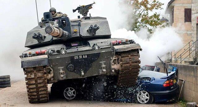 حذف تانک ها از ادوات ارتش انگلیس