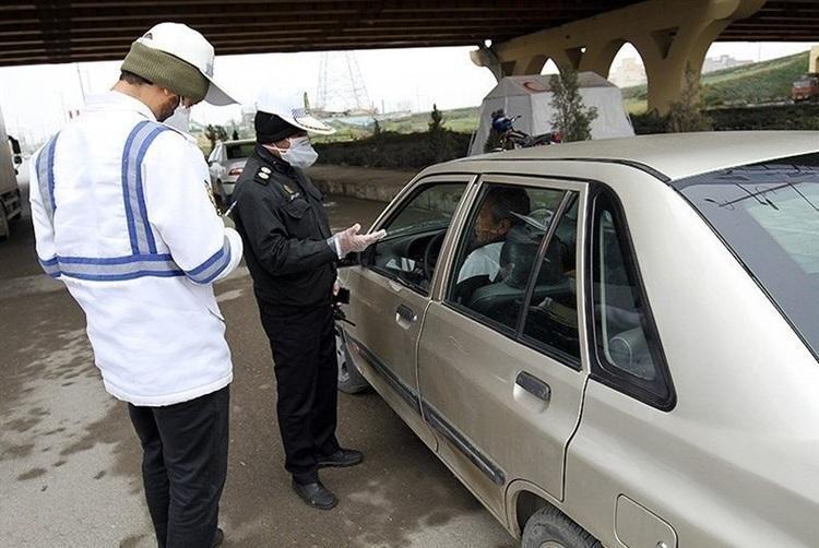 جریمه 6 هزار خودرو در تهران به دلیل ماسک نزدن