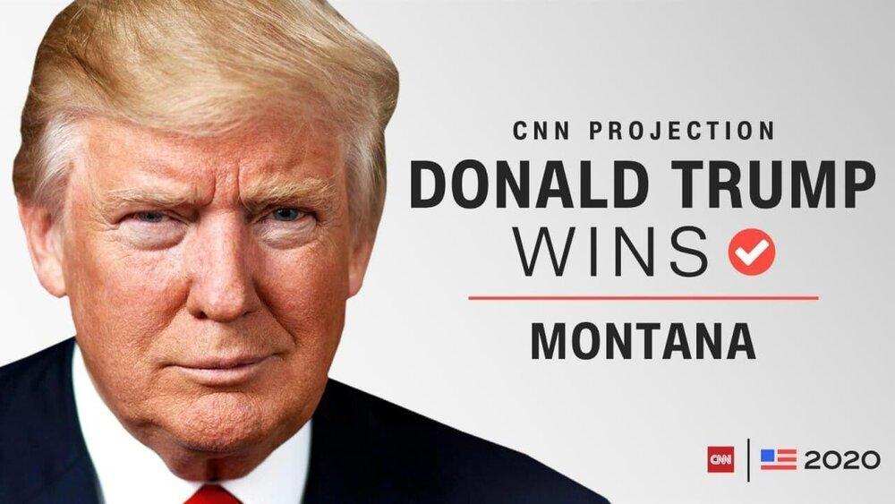 ایالت مونتانا هم نصیب ترامپ شد