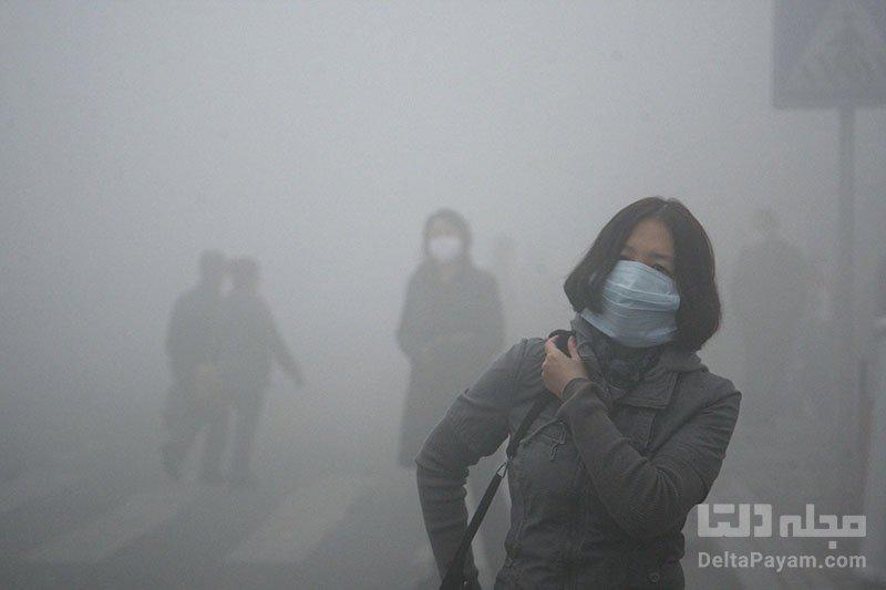 افزایش آلودگی شهرهای چین پس از فراوری انبوه آیفون 12