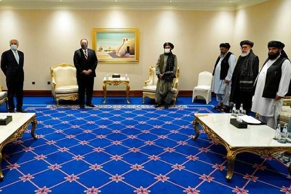 ملاقات بی نتیجه پمپئو با نمایندگان طالبان و دولت افغانستان