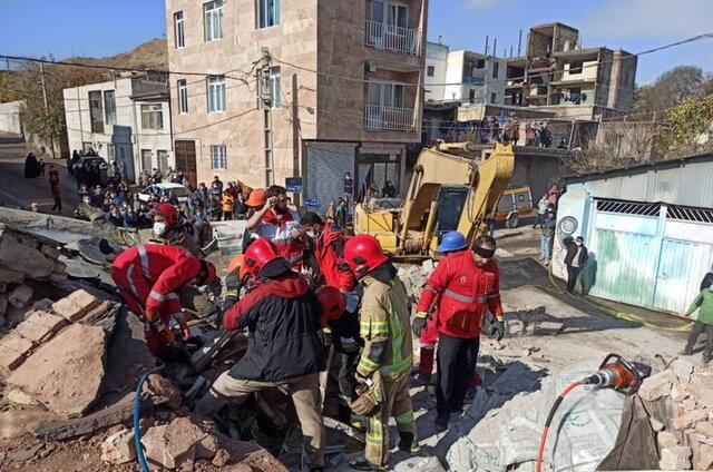 حادثه مرگبار ورود کامیون به ساختمان مسکونی ، سه نفر کشته