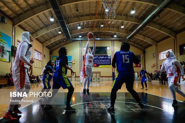 تثبیت صدرنشینی نفت در گروه دوم لیگ بسکتبال زنان