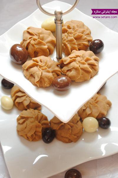 طرز تهیه شیرینی نسکافه ای مخصوص عید نوروز