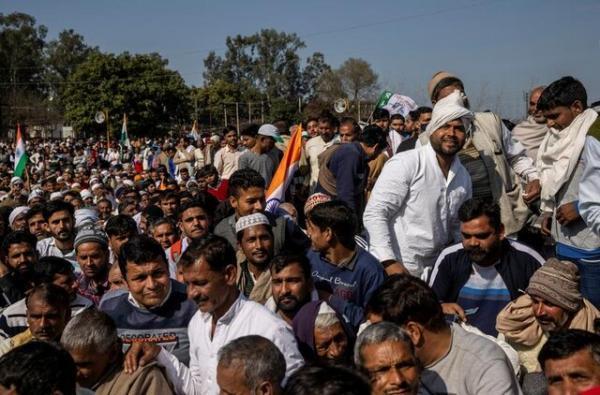 سازمان ملل خواهان حداکثر خویشتن داری توسط کشاورزان هندی شد