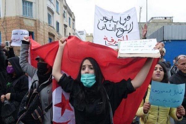3 هزار نفر در تونس دست به تظاهرات زدند