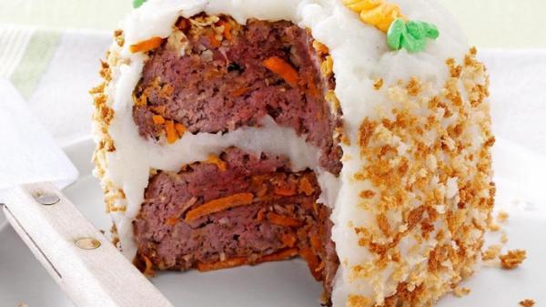 طرز تهیه کیک گوشت بدون فر به 2 روش اصلی