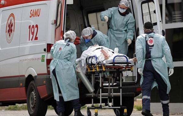 آمار روزانه فوتی های کرونا در برزیل به 3650 نفر رسید