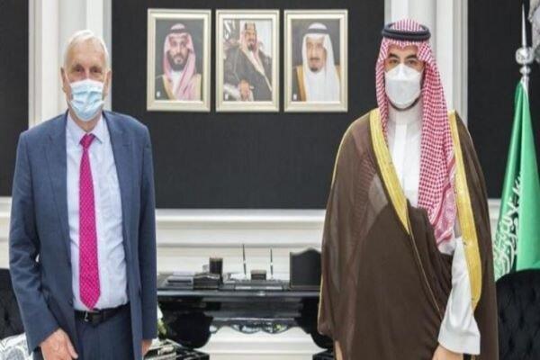 فرستاده نخست وزیر انگلیس با معاون وزیر دفاع سعودی ملاقات کرد