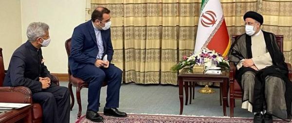 ملاقات وزیر خارجه هند با رییسی