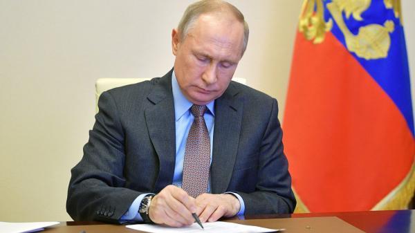 پوتین بر توسعه روابط با چین تاکید نمود