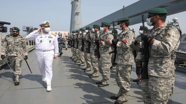 ملاقات فرمانده نیروی دریایی ارتش با کارکنان ناوگروه 75