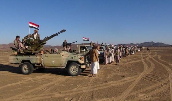 تسلط نیروهای یمن بر آخرین پناهگاه نیروهای منصورهادی در البیضاء
