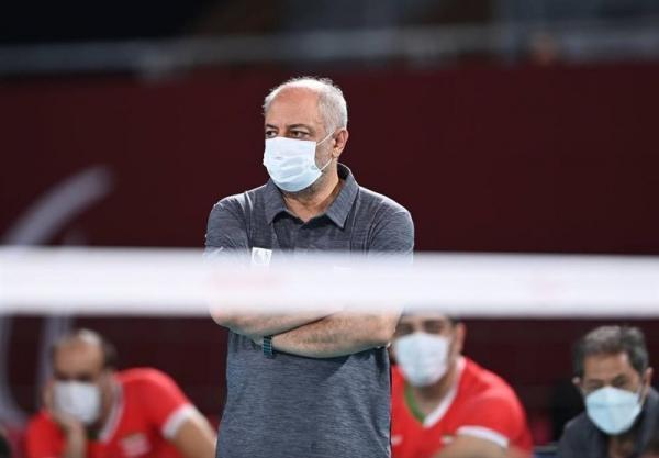 حضور سرمربی تازه روی نیمکت تیم والیبال نشسته، رضایی سرپرست مسابقات آسیا، اقیانوسیه شد