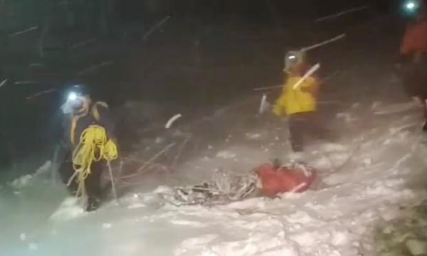 مرگ 5 کوهنورد بر اثر کولاک برف در روسیه