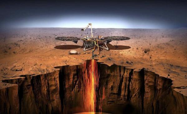 لندر ناسا زلزله 90 دقیقه ای در مریخ را ثبت کرد